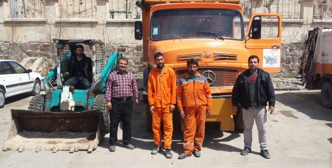 اعزام ادوات وتجهیزات به مناطق سیلزده شهر زیراب