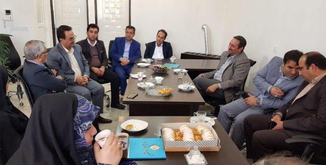 دیدار نوروز با نماینده محترم مجلس شورای اسلامی